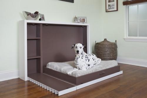 A murphy dog bed