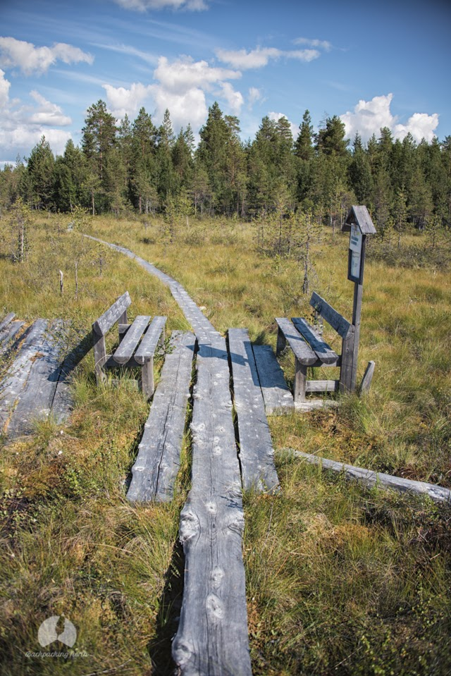 Backpacking in Finland