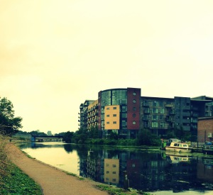 Canal to Hackney Marshes